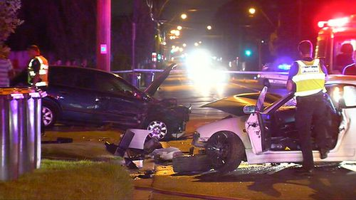 Drivers taken to hospital after crash in Melbourne's south-east