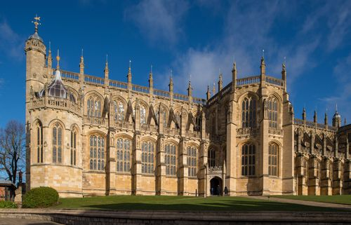 Windsor Castle will be packed with people for the wedding. (AAP)