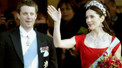 Princess Mary and Prince Frederik, May 2004