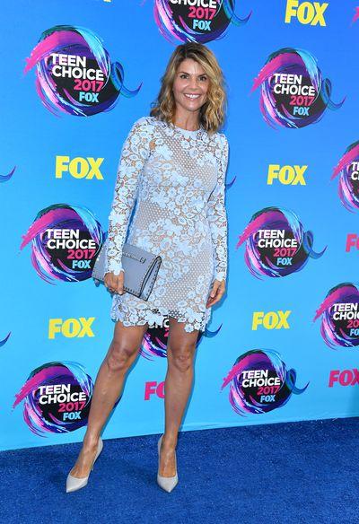 Lori Loughlinat the 2017 Teen Choice Awards, LA