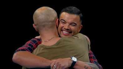 Guy Sebastian told Mark Furze he was proud of him