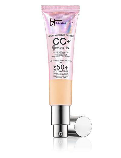 IT Cosmetics CC Plus Illumination Cream SPF50+, $58.