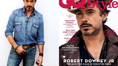 Sexy or meh? Robert Downey Jr. gets his cowboy on