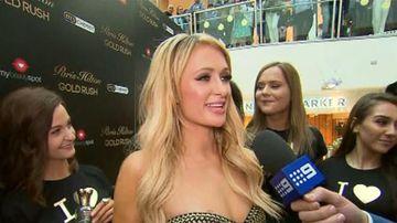 VIDEO: Paris Hilton in Melbourne to promote new fragrance