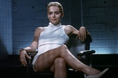 Sharon Stone, Basic Instinct, movie, scene