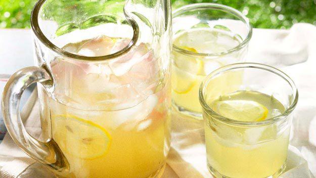 Organic lavender & rose lemonade