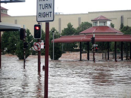 A massive amount of rain inundated Queensland in the summer of 2010-2011. (AAP)