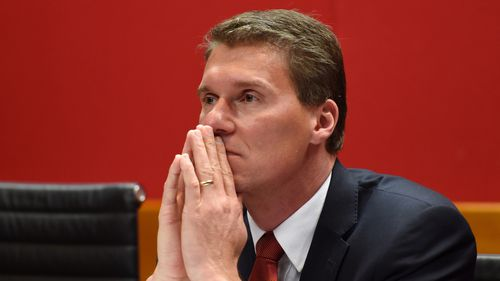 It appears Cory Bernardi may be leaving the Liberal party. (AAP)