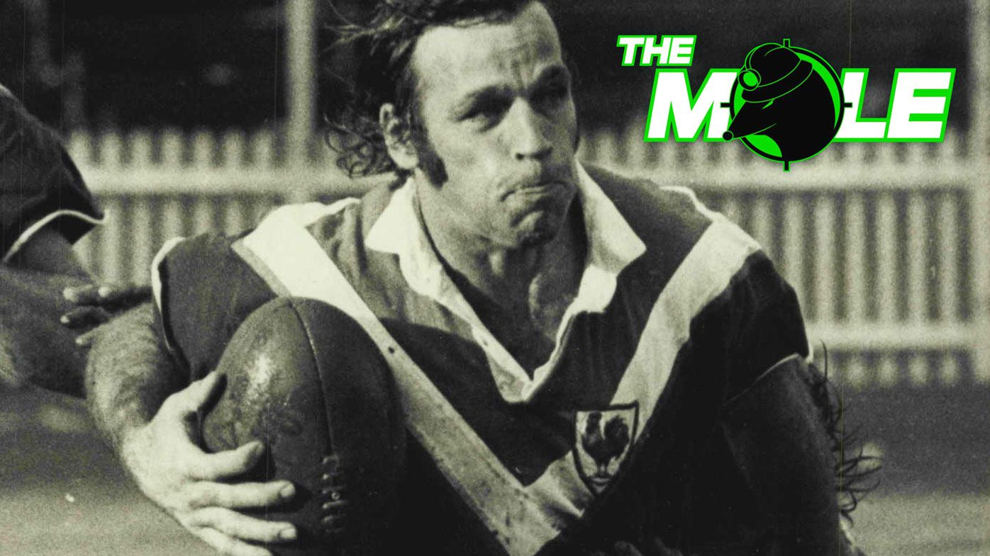 Harry Cameron in action for Easts against Manly at the SCG in 1973.