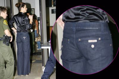 Stars do battle with disappearing underwear!