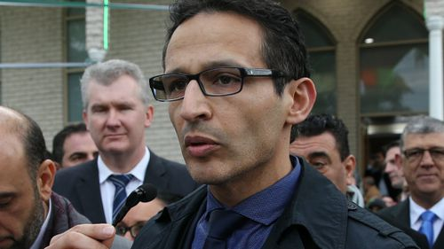 Lebanese Muslim Association President Samier Dandan (pictured earlier this year) has offered the Muslim community's assistance to help resolve the Martin Place siege. (AAP)