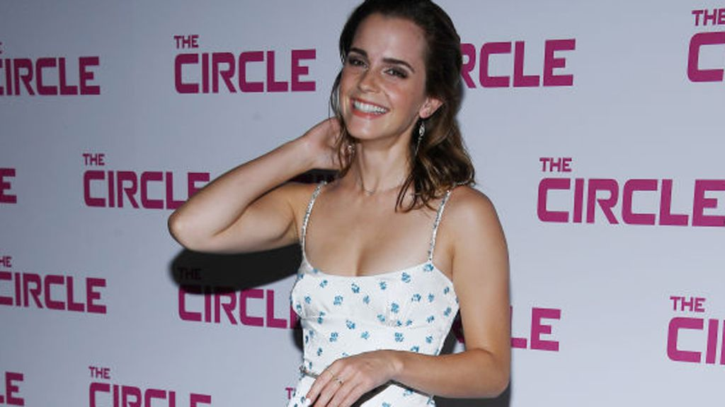 Emma Watson at The Circle premiere. Image: Getty