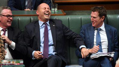 Josh Frydenberg in Parliament this week.