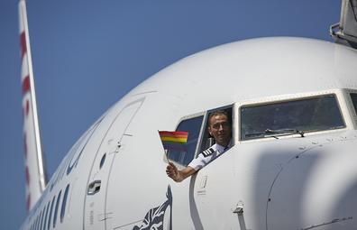 Virgin Australia Pride Flight