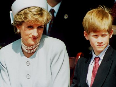Prince Harry survived on money left to him by his mother