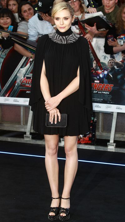 The younger Olsen sister has transitioned from brooding indie darling to bona fide Hollywood star, and her fashion cred has soared accordingly. Here she wears Saint Laurent to the premiere of <i>The Avengers: Age Of Ultron</i>.
