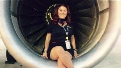 "<p>Industry colleagues have thrown their support behind a flight attendant who landed in trouble after she posed for a photo while sitting in commercial jet engine. </p> <p> A prying passenger spotted stewardess Ericka Paige Diehl posing for the photo while the Spirit Airlines plane rested on the tarmac at Chicago's O'Hare International Airport. </p> <p> While on board the passenger noted Ms Diehl's name and looked up her Facebook account after landing where they found the incriminating image. </p> <p> They then contacted Spirit to report what they found, with the airline releasing a statement that said: ""The activity portrayed in the photo absolutely goes against Spirit policy."" </p> <p> The passenger created more turbulence for the 41-year-old flight attendant, calling <a href=""http://abcnews.go.com/US/engine-photos-land-spirit-airlines-flight-attendant-controversy/story?id=31331372"">ABC7</a> to ask whether the activity was illegal. </p> <p> ABC7 contacted Ms Diehl about the photos, but she claimed to have no knowledge only to later say she was ""not at liberty to discuss them"".</p> <p> The photos were soon deleted, but 24 hours later her entire Facebook page disappeared completely. </p> <p> Yet other flight attendants and flight crews have come out to show their support for Ms Diehl, saying the controversy had blown out of proportion and the photo was no first-class fault. </p> <p> It was not long before colleagues started sharing their own jet engine selfies online with the hashtag #stewsforericka. </p> <p> A number of similar images have since been shared, including one with Virigin Airlines owner Richard Branson sitting in the same position which was taken for promotional purposes.  </p> <p></p>"