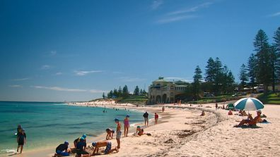 Cottesloe beach spans 1.5km and boasts stunning, clear water.