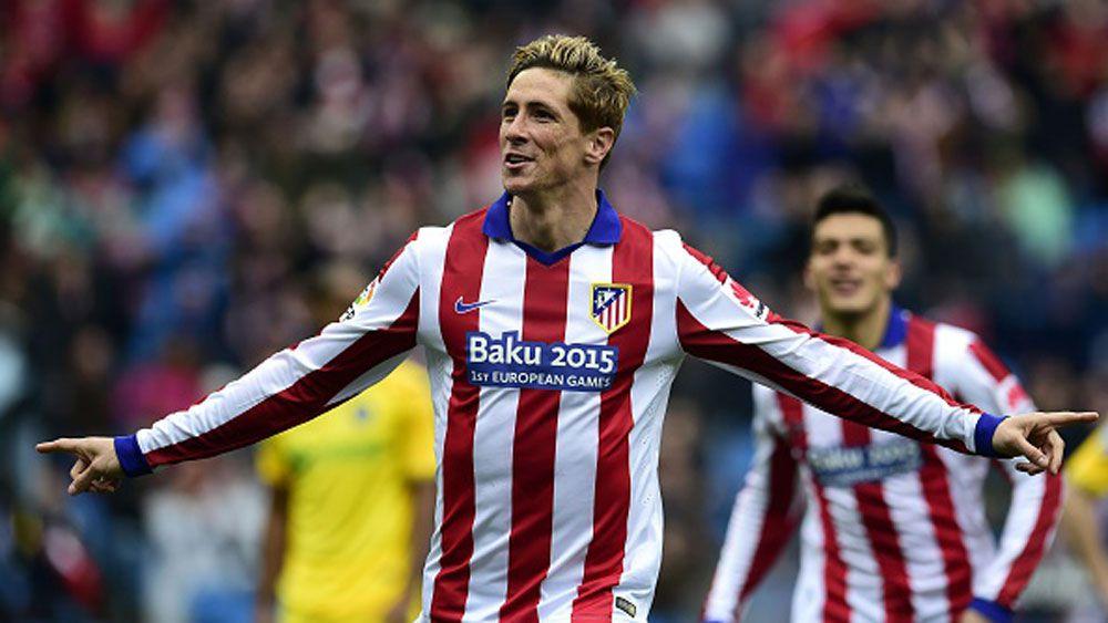 Atletico Madrid star Fernando Torres. (Getty)
