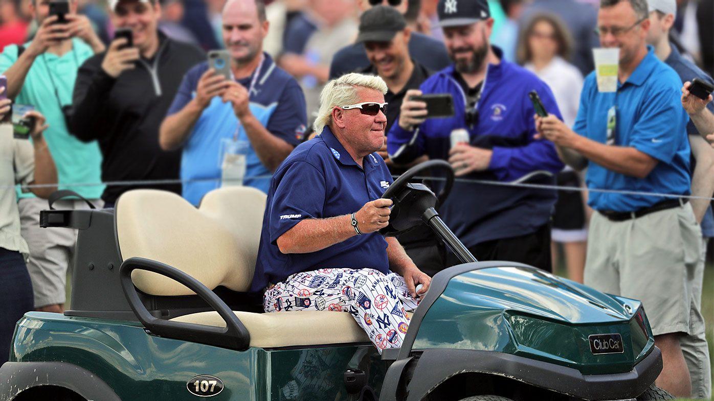 John Daly at the PGA Championship