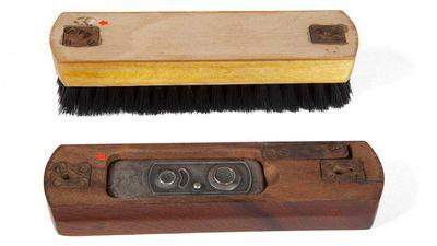 Shoebrush camera