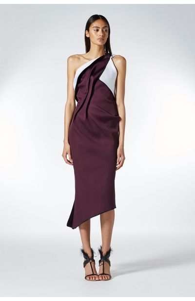 "<p>Class act</p> <p><a href=""http://www.tonimaticevski.com/shop-clothing/dresses/distinct-cocktail-dress.html"" target=""_blank"">Toni Maticevski</a> distinct cocktail dress, $1600<br /> </p>"