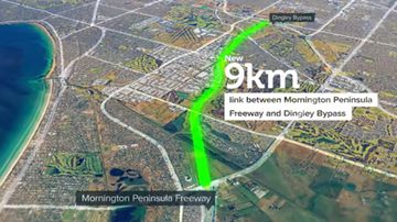 Mordialloc Bypass to become four-lane freeway