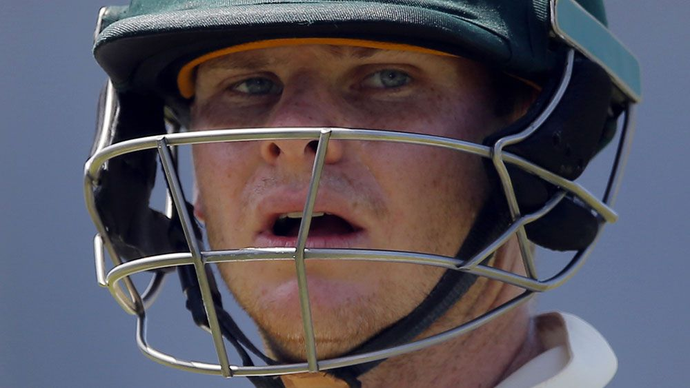 Steve Smith and the Australian men's cricket team may lose their top ranking. (AAP)