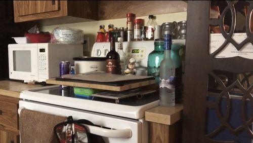 An image inside Samantha's house. (A Current Affair)