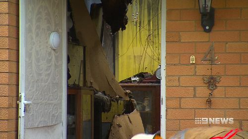 It is expected that the damage bill could be upwards of $300,000. Picture: 9NEWS.