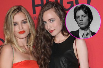 <b>Daughters of:</b> Rolling Stones frontman Mick Jagger.<br/><br/><b>Famous for:</b> Winning the genetic lottery (their mum is supermodel Jerry Hall) and being fabulous models.
