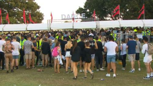 Police said they were happy overall. (9NEWS)