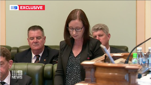 Queensland Health Minister Yvette D'ath.
