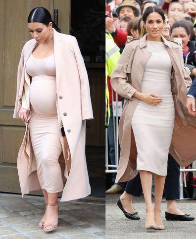 Meghan Markle Kim Kardashian