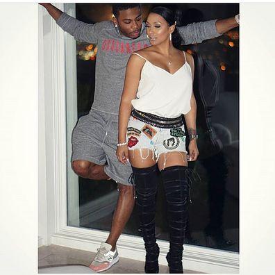 Nelly's long-time girlfriend Shantel Jackson confirms couple split.