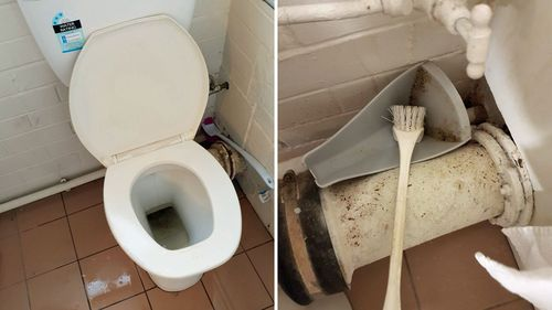The cleanliness of the toilets was a particularly sore point for customers.