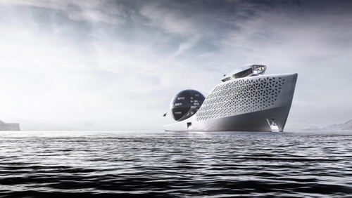 If built, the new vessel would dwarf even the world's largest superyacht.