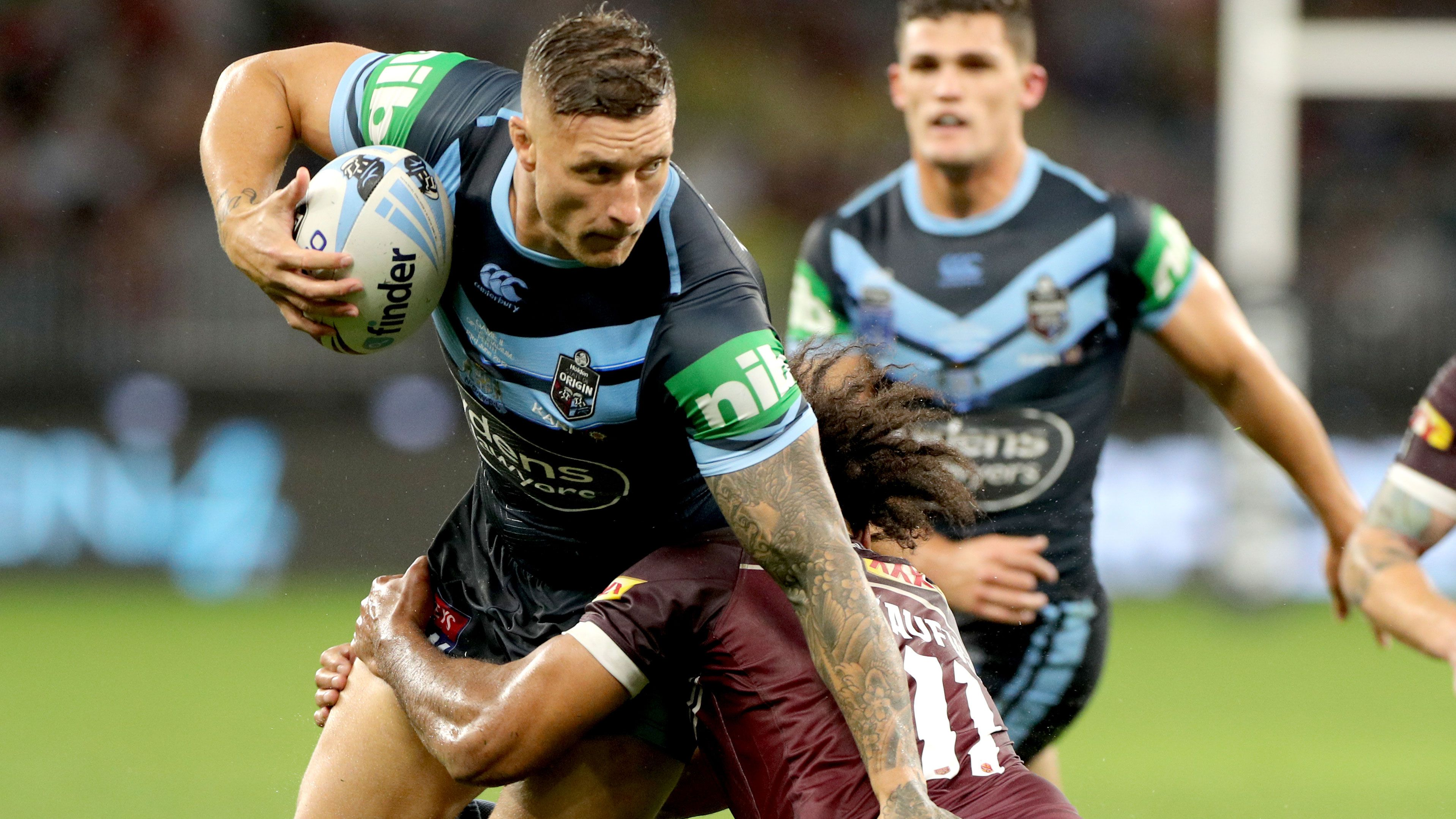Tariq Sims' Origin III selection is on a knife's edge.
