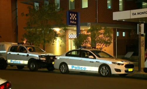 He had driven to the police station to check in for bail. (9NEWS)