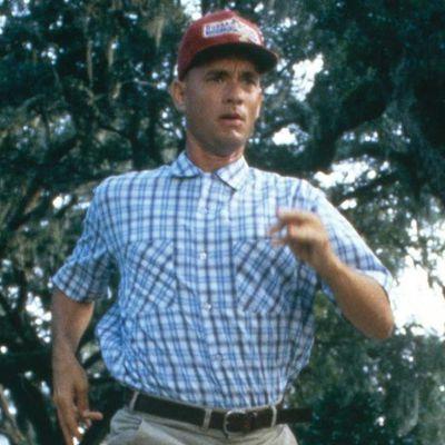 Tom Hanks as Forrest Gump: Then