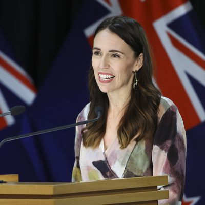New Zealand Prime Minster Jacinda Adern