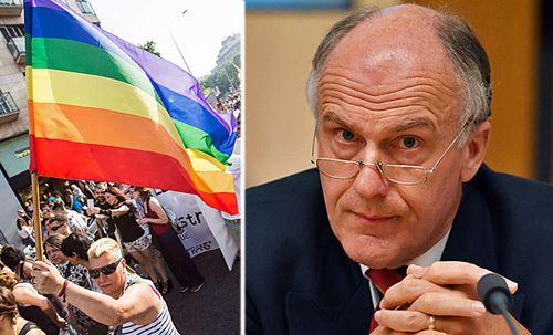 Eric Abetz questions why rainbow flag was flown