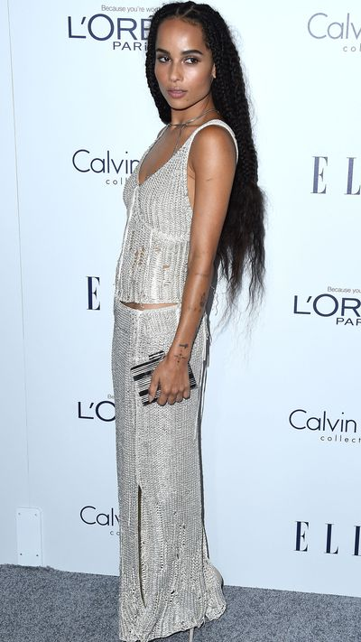 Wearing Calvin Klein SS16.
