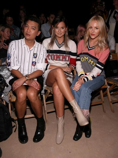 Bloggers Bryanboy, Danielle Bernstein and Shea Marie.
