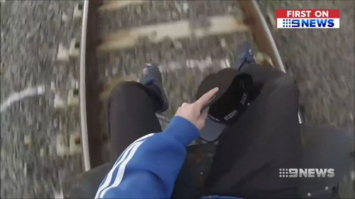Authorities are urging commuters to cut down on risky behaviour on the train network.