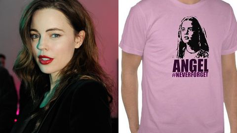 Melissa George's TV meltdown has been immortalized on a T-shirt