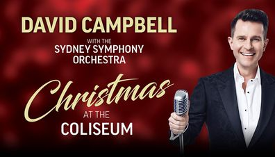 David Campbell is set to perform at Sydney's newest venue, the Sydney Coliseum Theatre, for Christmas at the Coliseum