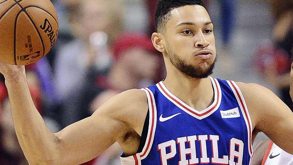 Simmons leads 76ers to win over Jazz