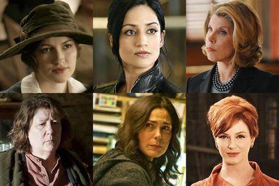 Kelly Macdonald, <i>Boardwalk Empire</i><br/><br/>Archie Panjabi, <i>The Good Wife</i><br/><br/>Christine Baranski, <i>The Good Wife</i><br/><br/>Margo Martindale, <i>Justified</i><br/><br/>Michelle Forbes, <i>The Killing</i><br/><br/>Christina Hendricks, <i>Mad Men</i>