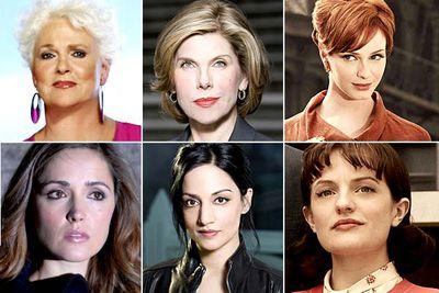 Sharon Gless, <I>Burn Notice</I><br/><br/>Christine Baranski, <I>The Good Wife</I><br/><br/>Christina Hendricks, <I>Mad Men</I><br/><br/>Rose Byrne, <I>Damages</I><br/><br/>Archie Panjabi, <I>The Good Wife</I><br/><br/>Elisabeth Moss, <I>Mad Men</I>